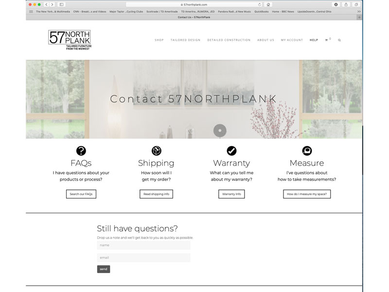 Effective Contact Us Page Design